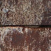 Rusty square background with space for text — Stock Photo
