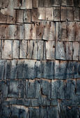 Shingle background (vertical shot) — Stock Photo