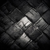 Texture of woven birch bark (the traditional Russian plaiting ba — Stock Photo
