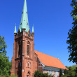 Stock Photo: St.Nikolai Kirche in Hamburg-Moorfleet