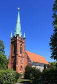 St.Nikolai Kirche in Hamburg-Moorfleet — Stock Photo