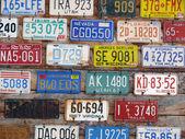 Kennzeichensammlung — Stock Photo