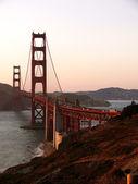 Dämmerung beim Golden Gate — Stock Photo