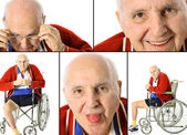 Shot of a disabled senior collage — Stock Photo