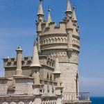 Lastochkino Gnezdo - landmark of Yalta — Stock Photo #6547304