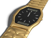 Gold watch — Stock Photo