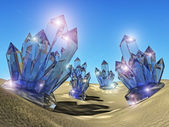 Crystals — Stock Photo