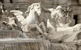 Fountain di Trevi — Stock Photo