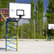 Stock Photo: Outdoor basketball