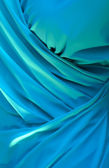 Blue satin background — Stock Photo