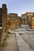 Chariot road in Pompeii, Italy — Stock Photo