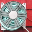 Hose on Reel — Stock Photo