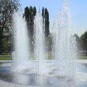 Primavera sprays de h20 — Foto Stock