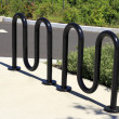 Royalty-Free Stock Photo: Bicycle Stand