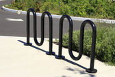 Bicycle Stand — Stock Photo