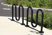 自行车架 — 图库照片