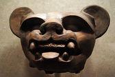 Pig face ceramics — Stock Photo