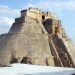 Pyramid in Uxmal — Stock Photo