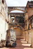 разрушенные монастырь — Стоковое фото