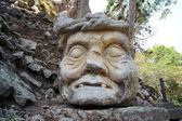 Stone head — Stock Photo