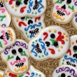 Day of the Dead cookies wallpaper - Stock Photo