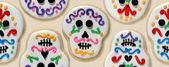 Day of the Dead cookies wallpaper — Stock Photo