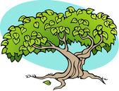 Fantasy tree — Stock Vector