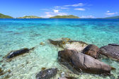 Virgin Islands Coastline — Stock Photo