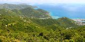 Landscape of Tortola - BVI — Stock Photo