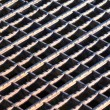 Rusty Grate Background — Stock Photo