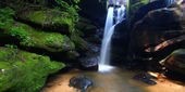 Severní Alabamě vodopád — Stock fotografie
