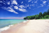 Chapel Beach - Michigan UP — Stock Photo