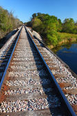 Ferrovia - illinois — Foto Stock