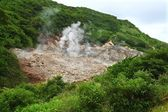Sulphur Springs - Saint Lucia — Stock Photo