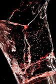 Vidro e água — Fotografia Stock