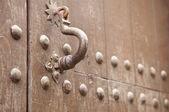 Wooden gate — Stockfoto
