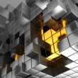 Cubes background — Stock Photo #5428108