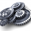 Stock Photo: Gear wheels
