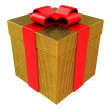 Present box — Stock Photo