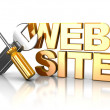 web-design — Stockfoto