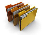 文件夹 — 图库照片