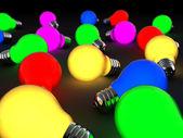 Glowing lights — Stock Photo