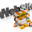 Stock Photo: Website construction