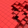Red cubes background — Stock Photo #5600702