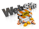 Website construction — Stock Photo