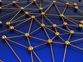 Network structure — Stock Photo