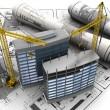 Construction building development — Stock Photo #5801098