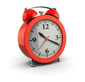 Red alarm clock — Stock Photo