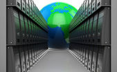 Web hosting — Stock Photo