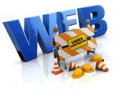 Website under construction — Stock Photo
